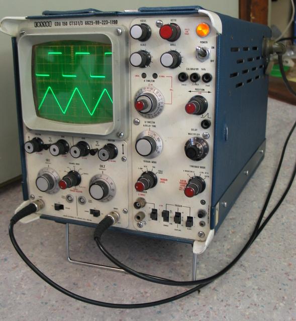 Tweedehands oscilloscoop
